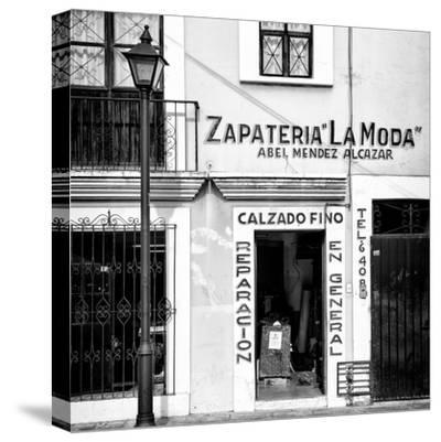 ¡Viva Mexico! Square Collection - Zapateria La Moda II-Philippe Hugonnard-Stretched Canvas Print