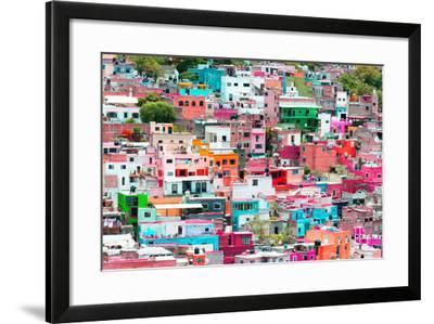 ?Viva Mexico! Collection - Guanajuato - Colorful Cityscape XIV-Philippe Hugonnard-Framed Photographic Print