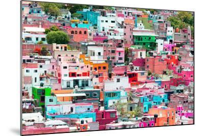 ?Viva Mexico! Collection - Guanajuato - Colorful Cityscape XIV-Philippe Hugonnard-Mounted Photographic Print