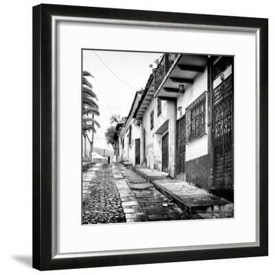 ¡Viva Mexico! Square Collection - Street in San Cristobal de Las Casas-Philippe Hugonnard-Framed Photographic Print