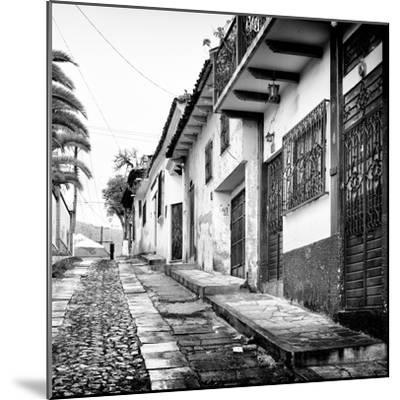 ¡Viva Mexico! Square Collection - Street in San Cristobal de Las Casas-Philippe Hugonnard-Mounted Photographic Print