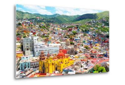 ¡Viva Mexico! Collection - Guanajuato II-Philippe Hugonnard-Metal Print