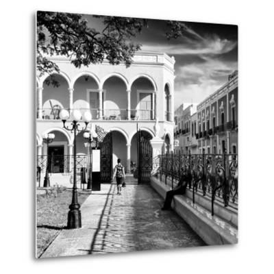¡Viva Mexico! Square Collection - Architecture Campeche III-Philippe Hugonnard-Metal Print