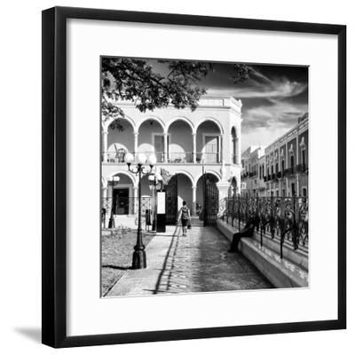 ¡Viva Mexico! Square Collection - Architecture Campeche III-Philippe Hugonnard-Framed Photographic Print