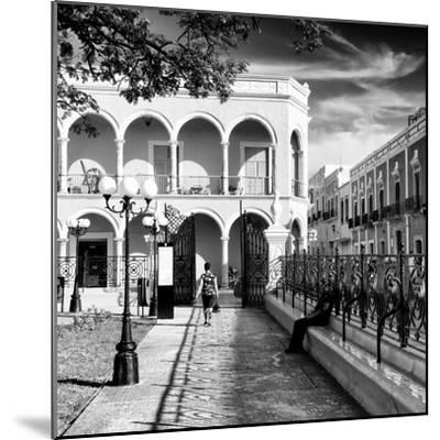 ¡Viva Mexico! Square Collection - Architecture Campeche III-Philippe Hugonnard-Mounted Photographic Print