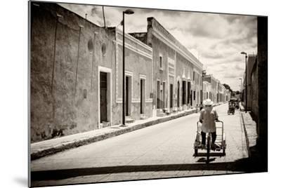 ?Viva Mexico! B&W Collection - Urban Scene in Izamal V-Philippe Hugonnard-Mounted Photographic Print