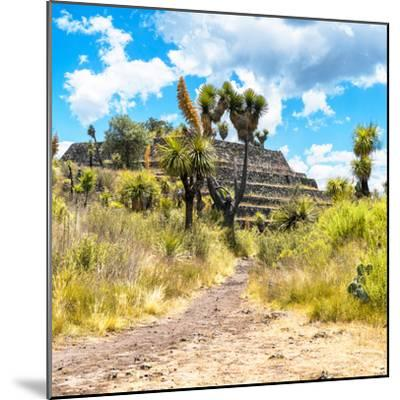 ¡Viva Mexico! Square Collection - Cantona Archaeological Ruins-Philippe Hugonnard-Mounted Photographic Print