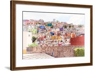 ?Viva Mexico! Collection - Architecture Guanajuato II-Philippe Hugonnard-Framed Photographic Print