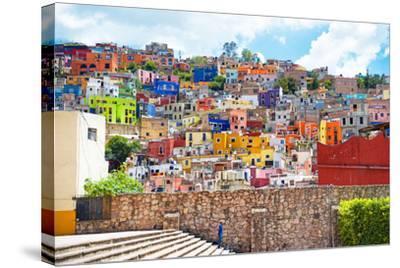 ?Viva Mexico! Collection - Architecture Guanajuato-Philippe Hugonnard-Stretched Canvas Print