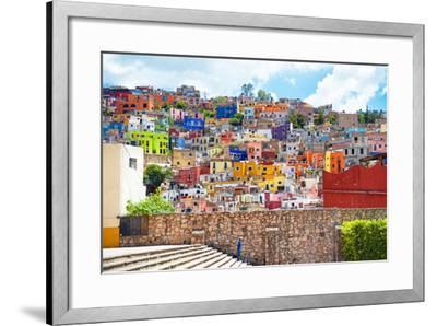 ¡Viva Mexico! Collection - Architecture Guanajuato-Philippe Hugonnard-Framed Photographic Print