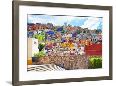 ?Viva Mexico! Collection - Architecture Guanajuato-Philippe Hugonnard-Framed Photographic Print