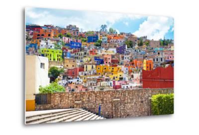 ?Viva Mexico! Collection - Architecture Guanajuato-Philippe Hugonnard-Metal Print
