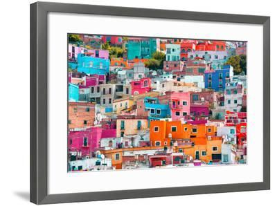 ?Viva Mexico! Collection - Colorful Cityscape XII - Guanajuato-Philippe Hugonnard-Framed Photographic Print