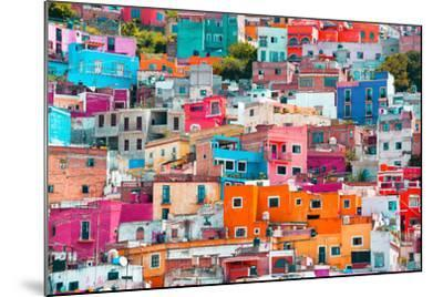 ?Viva Mexico! Collection - Colorful Cityscape XII - Guanajuato-Philippe Hugonnard-Mounted Photographic Print