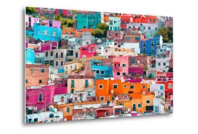 ?Viva Mexico! Collection - Colorful Cityscape XII - Guanajuato-Philippe Hugonnard-Metal Print