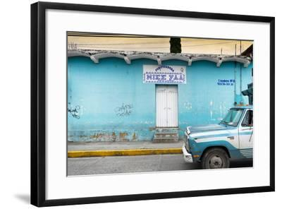 ?Viva Mexico! Collection - Blue Truck-Philippe Hugonnard-Framed Photographic Print