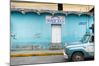 ?Viva Mexico! Collection - Blue Truck-Philippe Hugonnard-Mounted Photographic Print