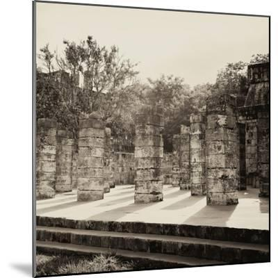 ¡Viva Mexico! Square Collection - One Thousand Mayan Columns in Chichen Itza VI-Philippe Hugonnard-Mounted Photographic Print