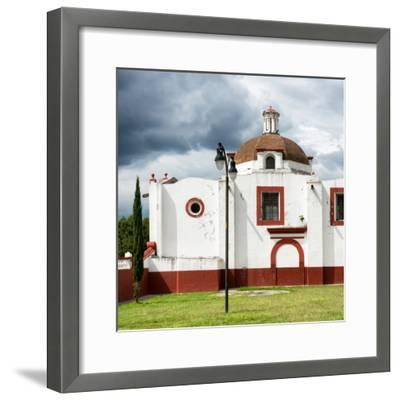 ¡Viva Mexico! Square Collection - Mexican Church-Philippe Hugonnard-Framed Photographic Print