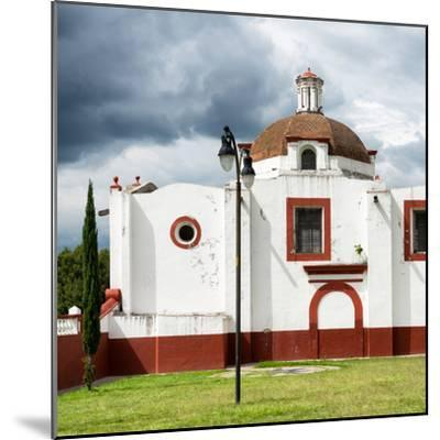 ¡Viva Mexico! Square Collection - Mexican Church-Philippe Hugonnard-Mounted Photographic Print