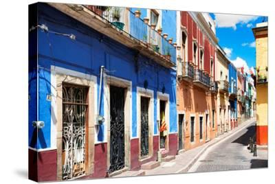 ?Viva Mexico! Collection - Colorful Street Scene - Guanajuato III-Philippe Hugonnard-Stretched Canvas Print