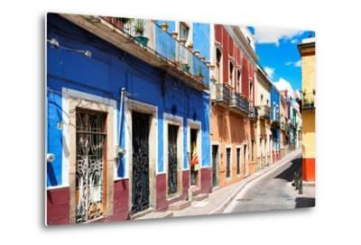 ?Viva Mexico! Collection - Colorful Street Scene - Guanajuato III-Philippe Hugonnard-Metal Print