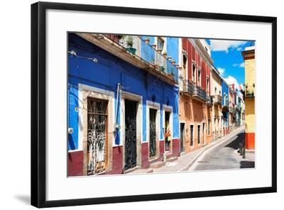 ?Viva Mexico! Collection - Colorful Street Scene - Guanajuato III-Philippe Hugonnard-Framed Photographic Print