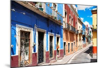 ?Viva Mexico! Collection - Colorful Street Scene - Guanajuato III-Philippe Hugonnard-Mounted Photographic Print