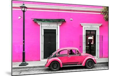 ?Viva Mexico! Collection - VW Beetle Car - Deep & Hot Pink-Philippe Hugonnard-Mounted Photographic Print