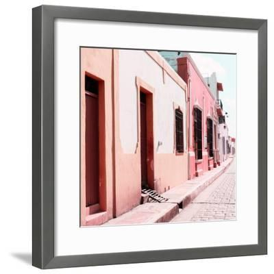 ¡Viva Mexico! Square Collection - Coloful Street IV-Philippe Hugonnard-Framed Photographic Print