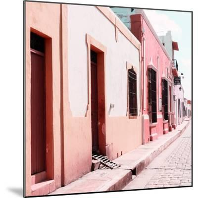 ¡Viva Mexico! Square Collection - Coloful Street IV-Philippe Hugonnard-Mounted Photographic Print