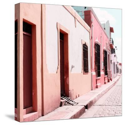 ¡Viva Mexico! Square Collection - Coloful Street IV-Philippe Hugonnard-Stretched Canvas Print