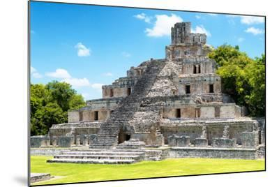 ¡Viva Mexico! Collection - Maya Archaeological Site IV - Edzna Campeche-Philippe Hugonnard-Mounted Photographic Print