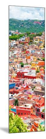 ¡Viva Mexico! Panoramic Collection - Guanajuato Colorful Cityscape XIII-Philippe Hugonnard-Mounted Photographic Print