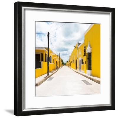 ¡Viva Mexico! Square Collection - The Yellow City II - Izamal-Philippe Hugonnard-Framed Photographic Print