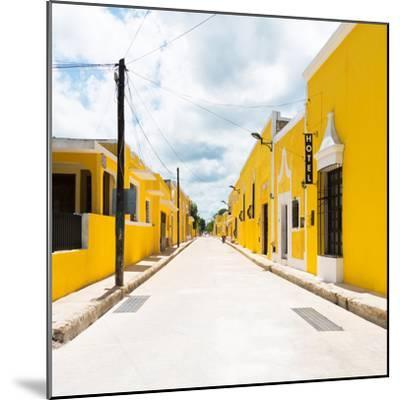 ¡Viva Mexico! Square Collection - The Yellow City II - Izamal-Philippe Hugonnard-Mounted Photographic Print