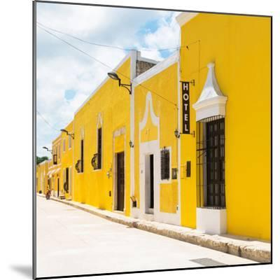 ¡Viva Mexico! Square Collection - The Yellow City - Izamal-Philippe Hugonnard-Mounted Photographic Print