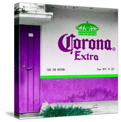 ¡Viva Mexico! Square Collection - Purple Extra-Philippe Hugonnard-Stretched Canvas Print