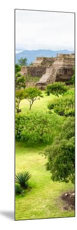 ¡Viva Mexico! Panoramic Collection - Pyramid of Monte Alban V-Philippe Hugonnard-Mounted Photographic Print