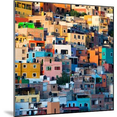 ¡Viva Mexico! Square Collection - Guanajuato at Sunset II-Philippe Hugonnard-Mounted Photographic Print