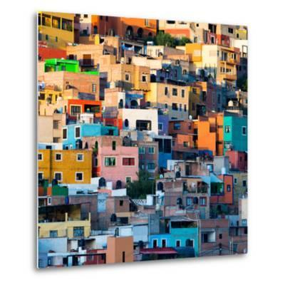 ¡Viva Mexico! Square Collection - Guanajuato at Sunset II-Philippe Hugonnard-Metal Print