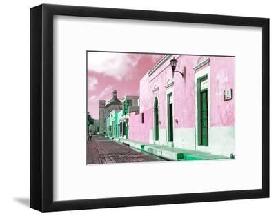 ¡Viva Mexico! Collection - Pink Campeche-Philippe Hugonnard-Framed Photographic Print