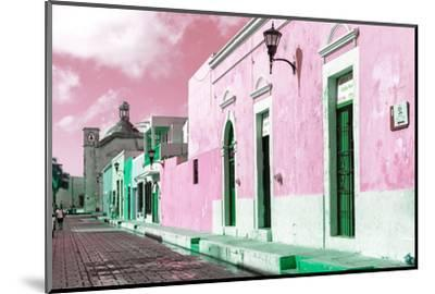 ¡Viva Mexico! Collection - Pink Campeche-Philippe Hugonnard-Mounted Photographic Print
