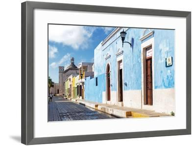 ?Viva Mexico! Collection - Blue Campeche-Philippe Hugonnard-Framed Photographic Print
