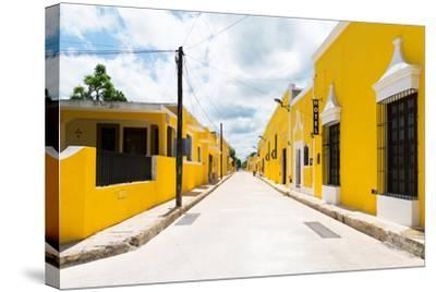 ?Viva Mexico! Collection - The Yellow City I - Izamal-Philippe Hugonnard-Stretched Canvas Print