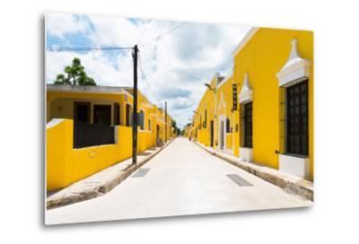 ?Viva Mexico! Collection - The Yellow City I - Izamal-Philippe Hugonnard-Metal Print