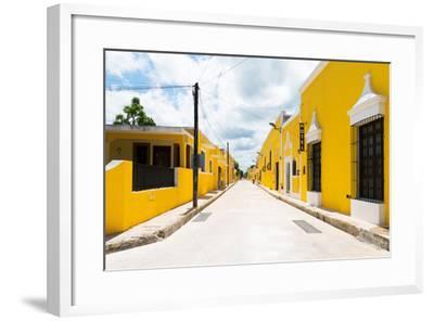 ?Viva Mexico! Collection - The Yellow City I - Izamal-Philippe Hugonnard-Framed Photographic Print