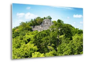 ?Viva Mexico! Collection - Ancient Maya City within the jungle of Calakmul V-Philippe Hugonnard-Metal Print