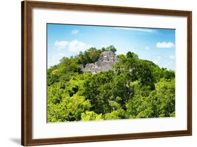 ?Viva Mexico! Collection - Ancient Maya City within the jungle of Calakmul V-Philippe Hugonnard-Framed Photographic Print