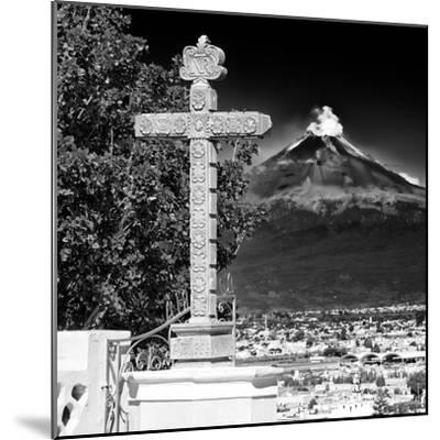 ¡Viva Mexico! Square Collection - Popocatepetl Volcano in Puebla IX-Philippe Hugonnard-Mounted Photographic Print